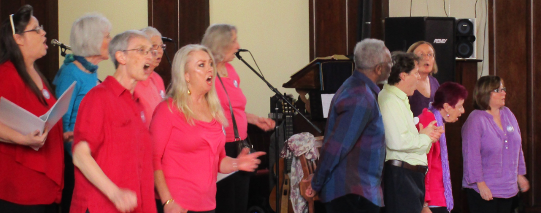 Choir meets on Tuesdays, 7.30pm-8.30pm at Christ Church United Reformed Church, Bellingham Green, SE6 3HQ, London